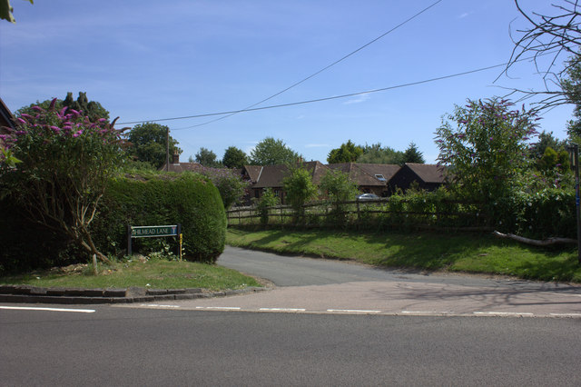 Junction of Chilmead Lane and Cornmongers Lane