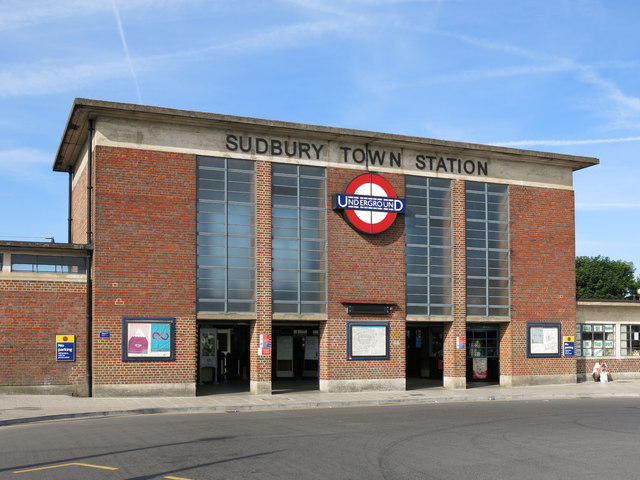 Sudbury Town tube station - entrance building