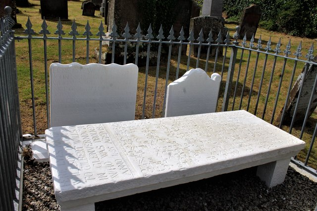 Martyr's Tombstone