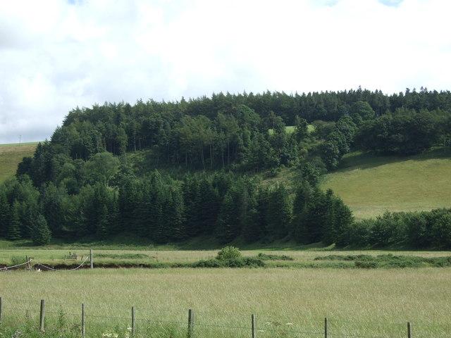 Whiteadder Water valley