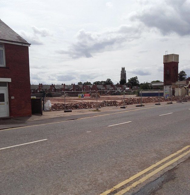 Site cleared, Norfolk Street