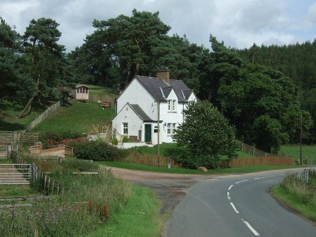House on the B6355, Ellemford Bridge