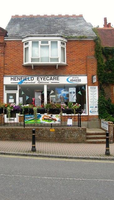 Opticians, High Street, Henfield