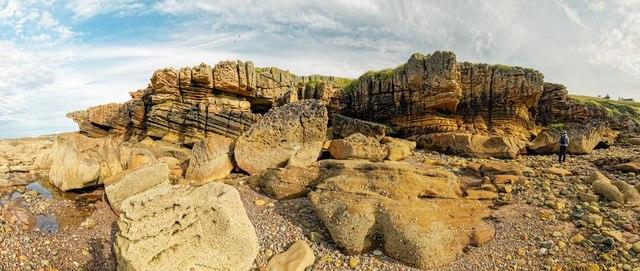 Cliffs at Covesea