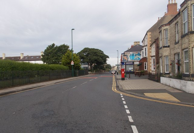 Coatham Road - viewed from Lobster Road