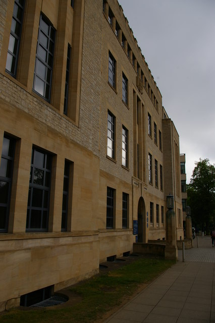 Inorganic Chemistry building, South Parks Road, Oxford
