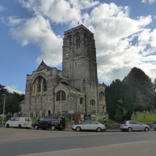 St David's church, Exeter