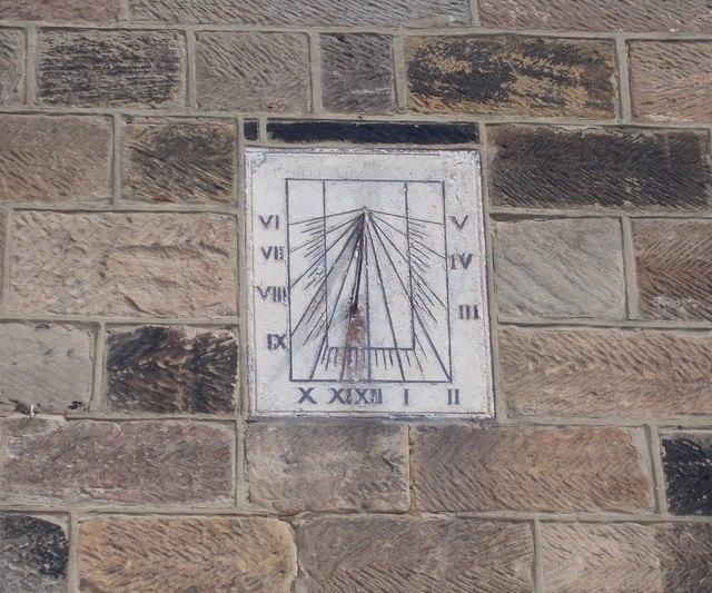 Sundial - above Co-op Store - High Street