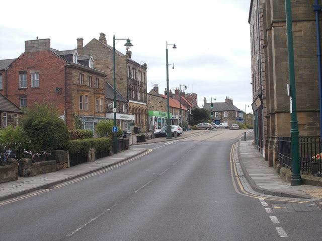 High Street - viewed from near Parish Church