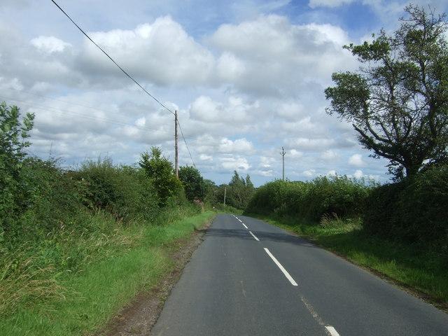 B6355 approaching Preston