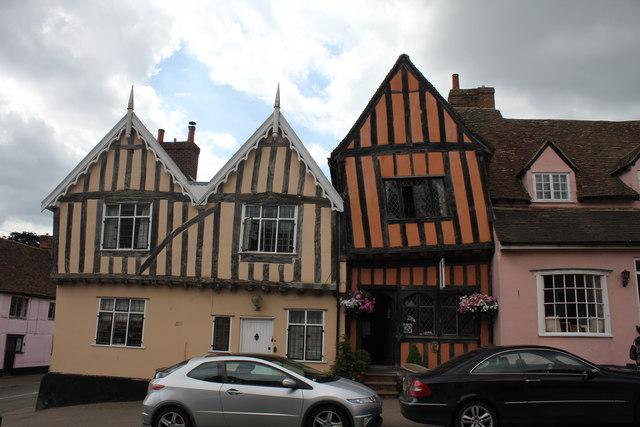 6 and 7 High Street, Lavenham