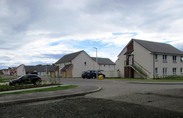 New housing development, Leven