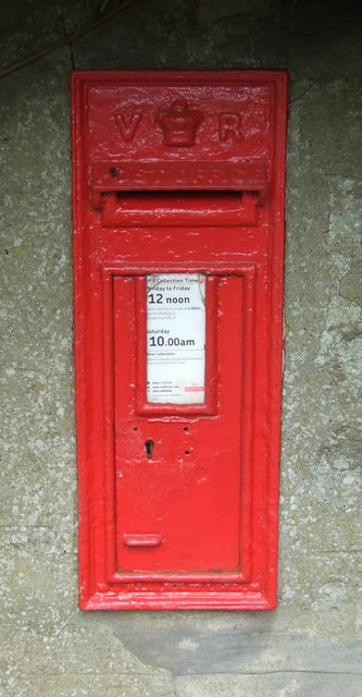 Victorian postbox, House o' Muir