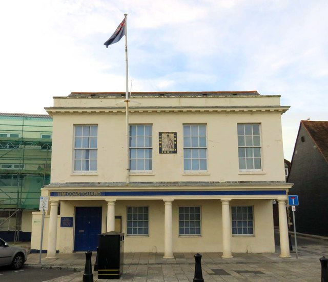 HM Coastguard office on The Quay