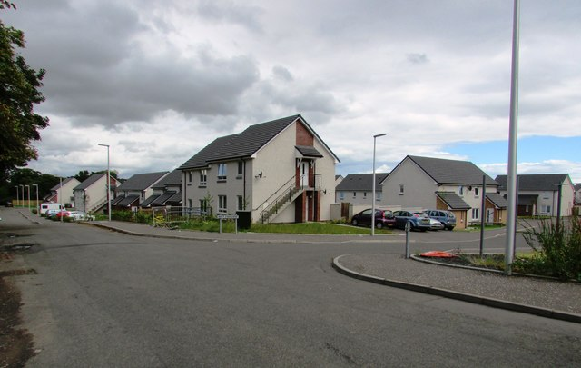 New housing development, Leven