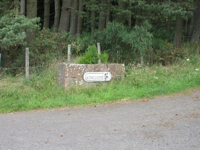 Kinclune entrance