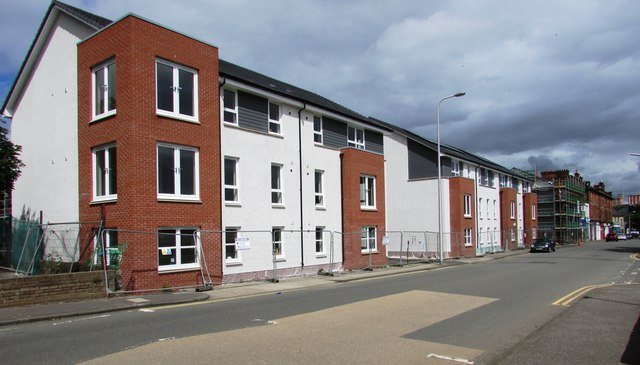 New housing development, Kirkcaldy