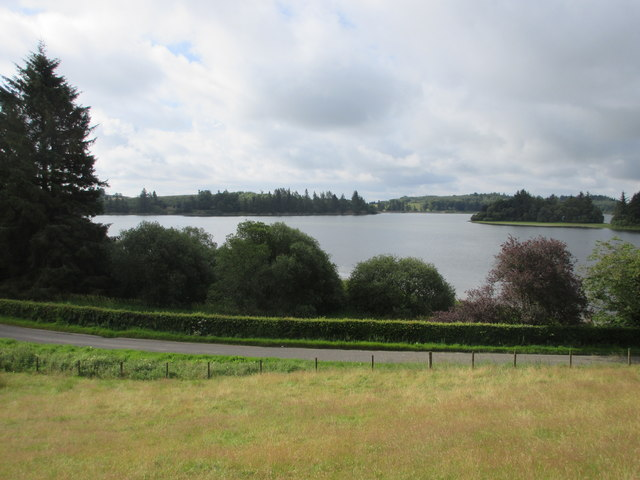 North side of the Loch of Lintrathen