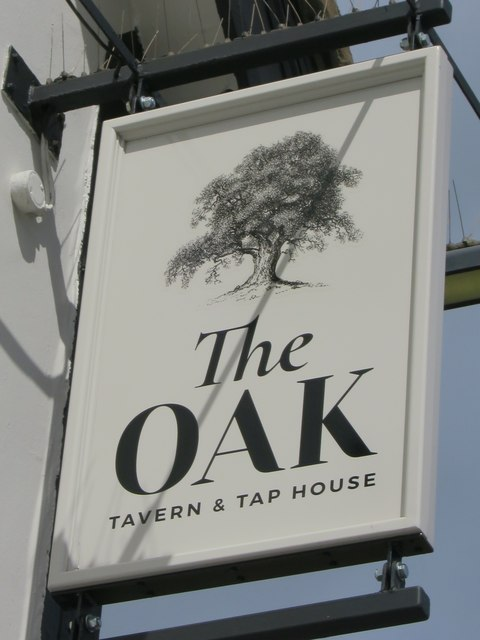 The Oak sign