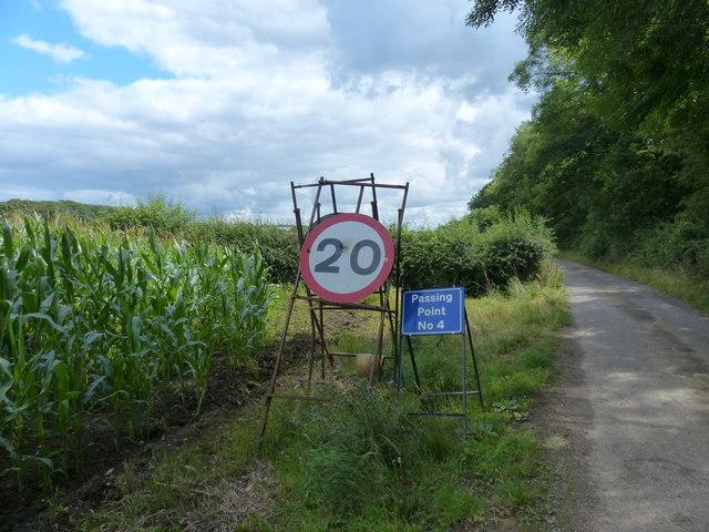 Lubbesthorpe Bridle Road near New House Farm