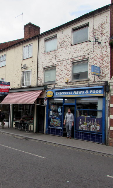 Checketts News & Food, 69 Lowesmoor, Worcester