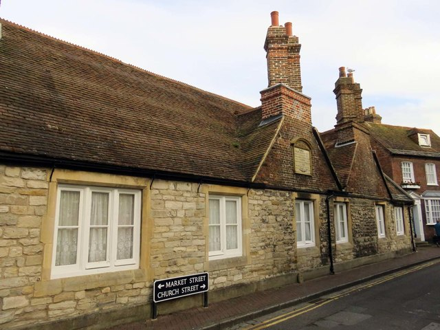 Almshouses on Church Street