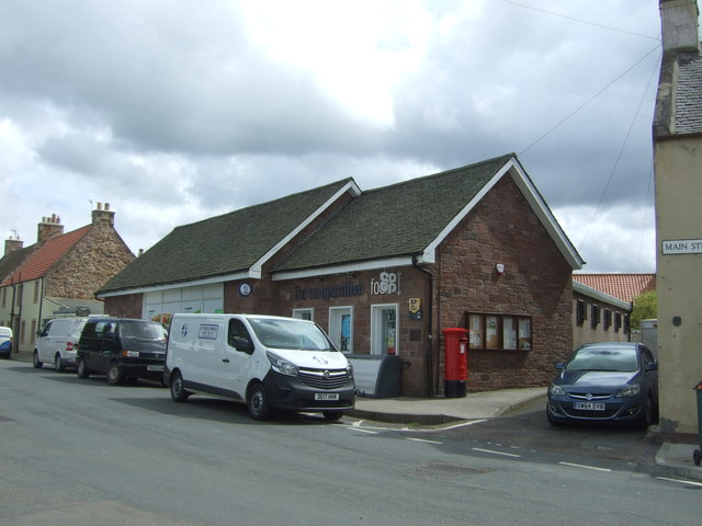 Co-operative food store and Post Office, Gifford