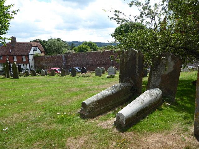 St Bartholomew, Burwash: churchyard (a)