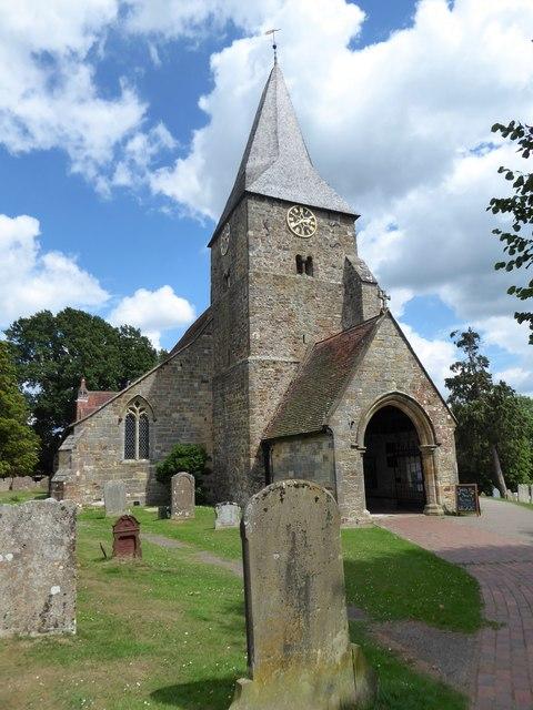 St Bartholomew, Burwash: churchyard (c)