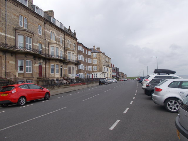 Marine Parade - viewed from top of Cliff railway