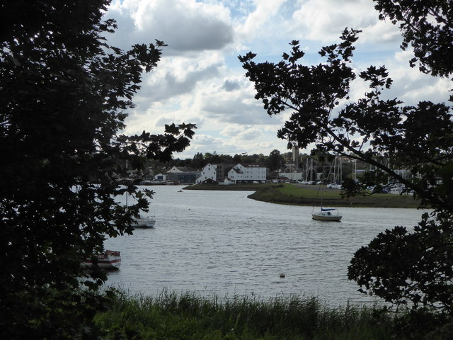 Woodbridge Tide Mill from Ferry Cliff