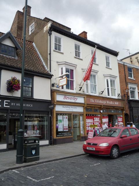 Shops on Saturday Market, Beverley