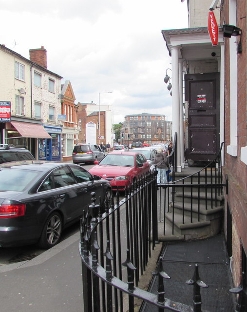 Firefly entrance, Lowesmoor, Worcester