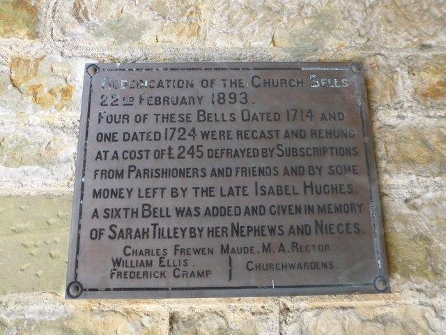 St Bartholomew, Burwash: memorial (xvi)