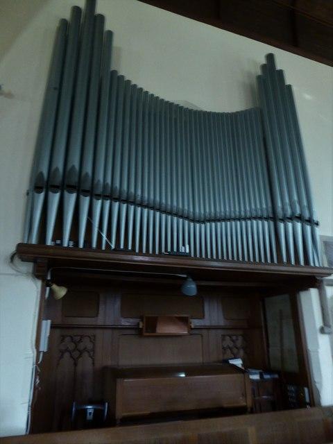 St Bartholomew, Burwash: organ