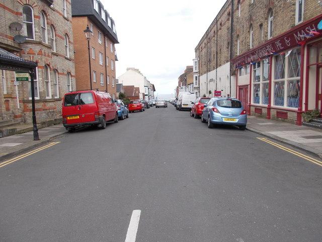 Pearl Street - Milton Street