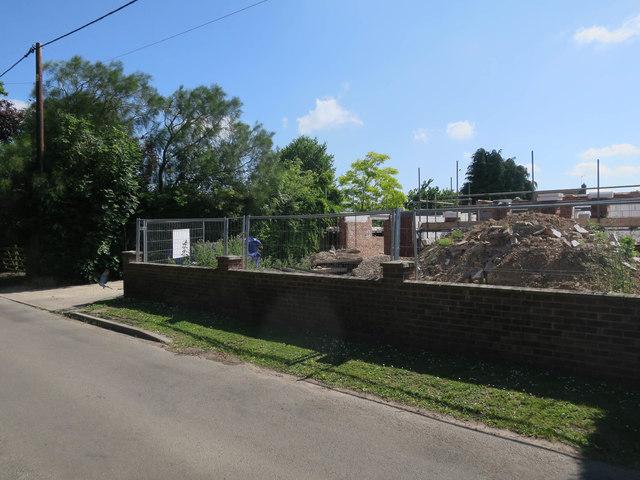 Rebuild on Buckenham Road, Lingwood