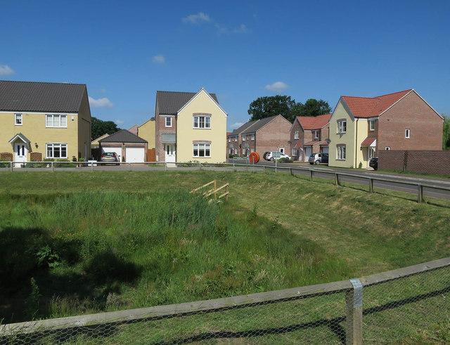 New housing, Lingwood