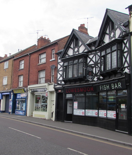Lowesmoor Fish Bar, Worcester
