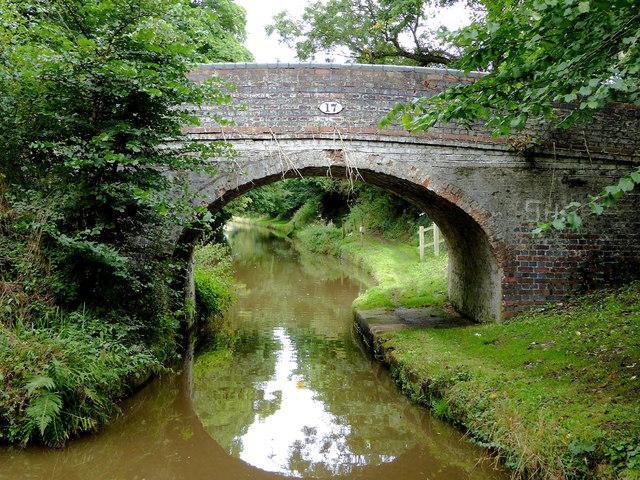 Wrenbury Hall Bridge near Wrenbury Heath in Cheshire