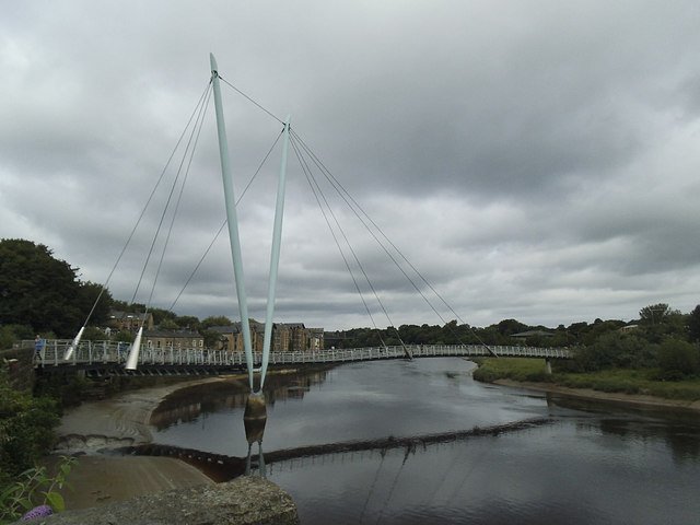 Lune Millennium Bridge, Lancaster