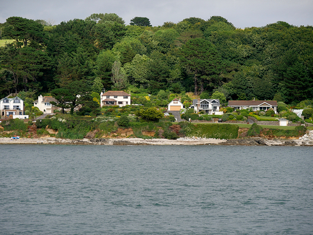 St Mawes, Houses on Castle Drive