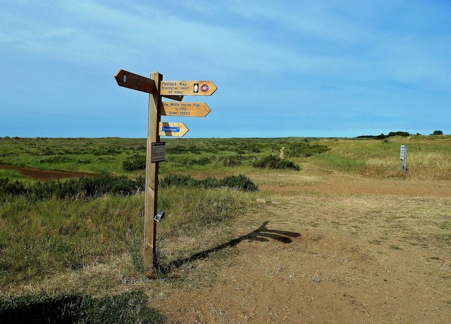 On The Norfolk Coast Path