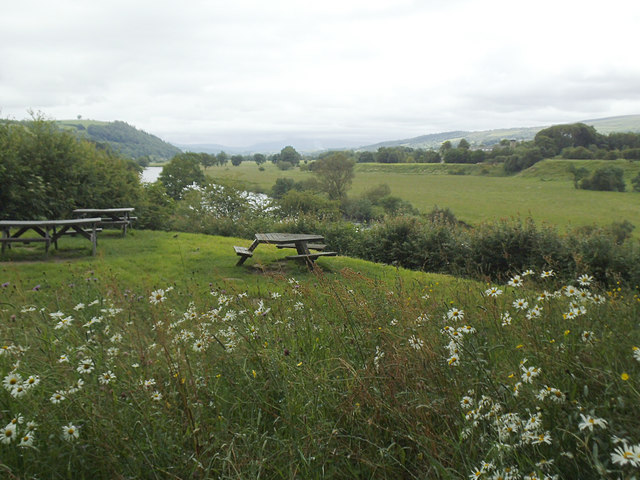 Picnic site at Crook of Lune