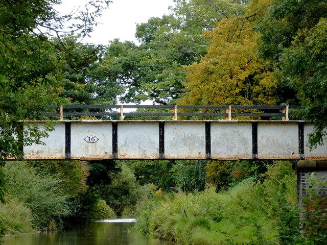 Wrenbury Bridge near Wrenbury Heath in Cheshire