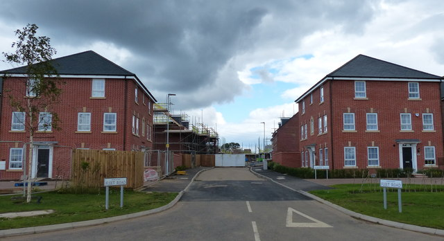 Fleet Road at New Lubbesthorpe