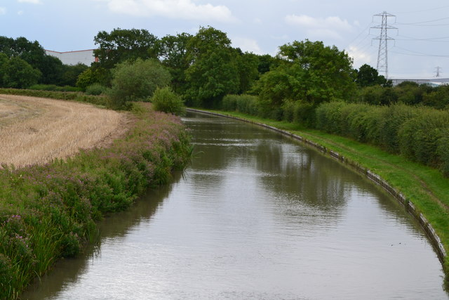 Ashby Canal south from bridge No. 19