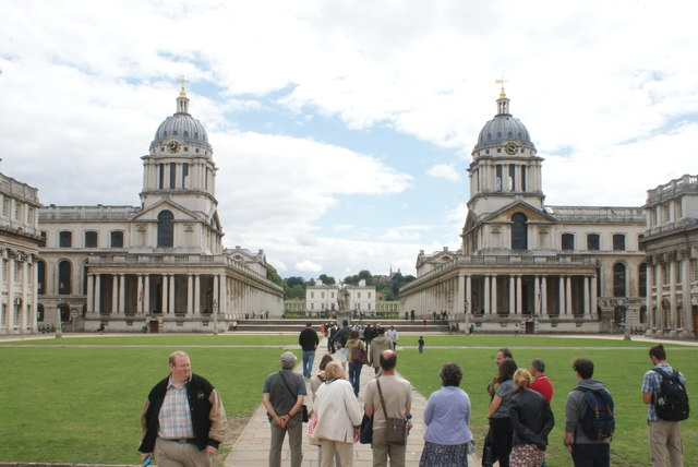 View of the University of Greenwich from the university grounds #2