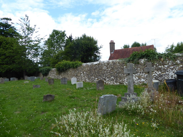 St Thomas à Becket, Brightling: churchyard (a)