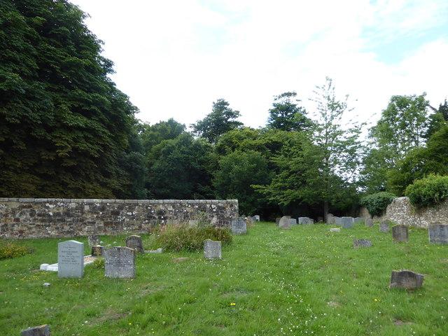 St Thomas à Becket, Brightling: churchyard (b)